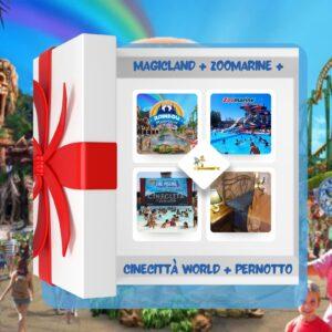 pacchetto magicland zoomarine cinecittà world