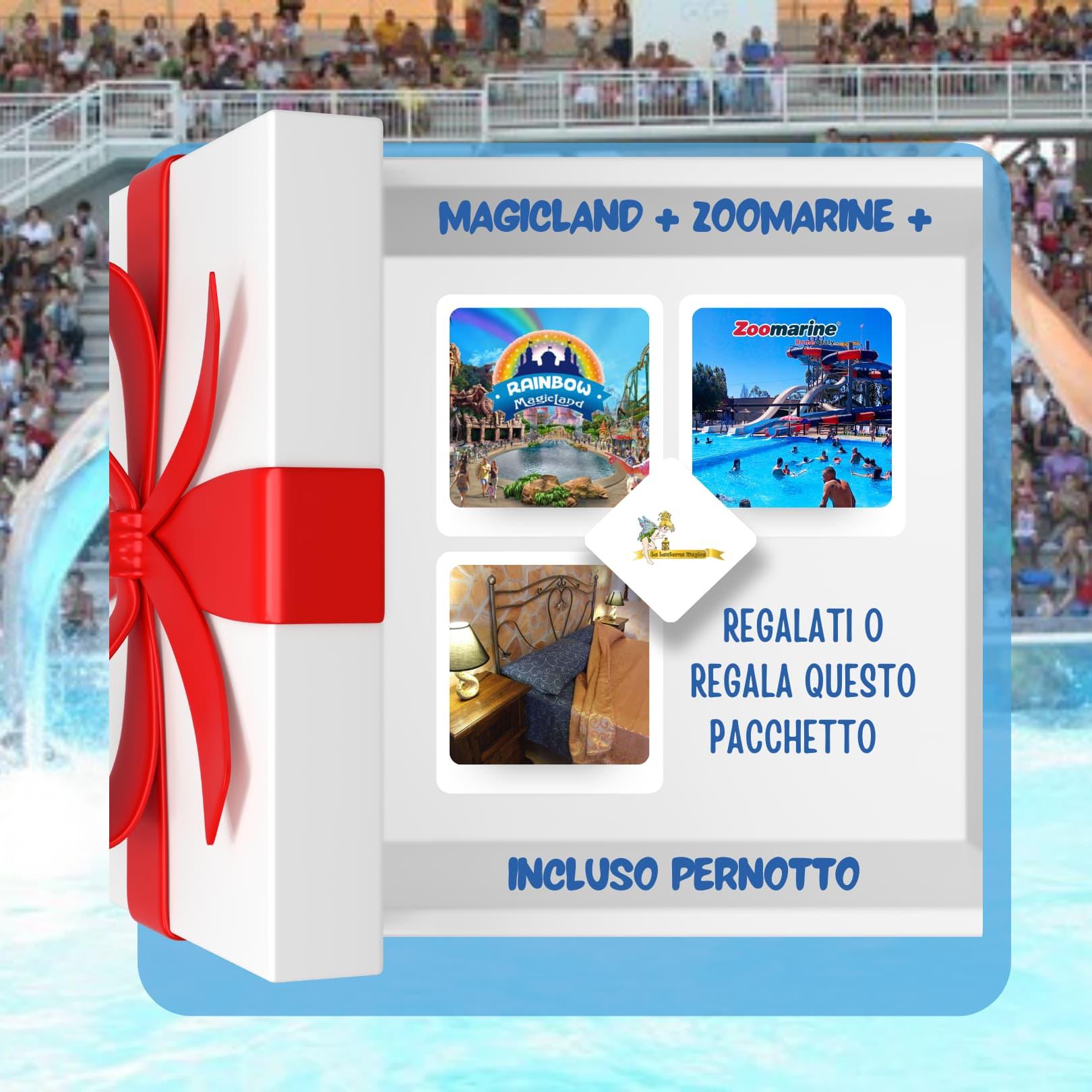 pacchetto magicland zoomarine